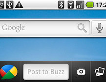 Google Buzz widget comes to Android
