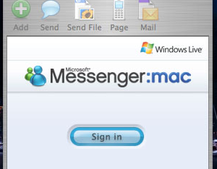 Mac gets beta Live Messenger update