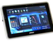 MSI Wind Pad - the 10-inch Windows 7 tablet