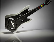 Guitar Hero: Warrior's of Rock axe guitar controller for the rock god in you