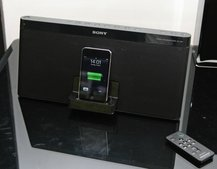 Sony RDP-X80iP offers your BBQ tunes