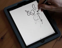 VIDEO: iPad screen pressure demoed by Ten One Design