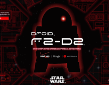 Limited edition R2-D2 Motorola Droid 2: Sign up now