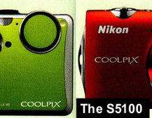 Nikon S1100pj and Coolpix S5100 cameras leaked