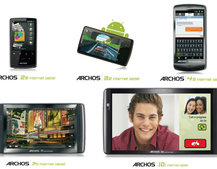 Archos floods Android tablet market with 5 new models starting at £99