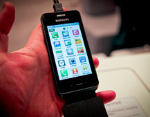Samsung Wave 723 hands-on