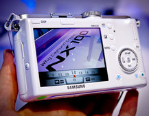 Samsung NX100 hands on