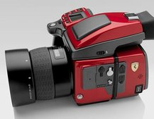Hasselblad Ferrari H4D camera races on to the scene
