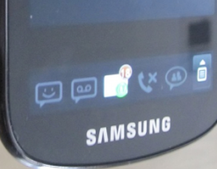 Samsung Continuum: The dual screen Galaxy S handset