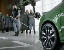 "VIDEO: New Skoda Fabia TV ad is ""Made of Meaner Stuff"""