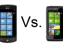 LG Optimus 7 vs HTC 7 Trophy
