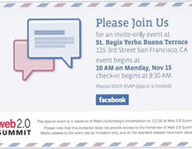 Facebook email client to be unveiled on Monday?