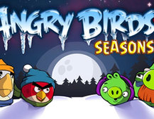 Angry Birds Seasons hits Android... before iPhone or iPad