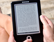 Bookeen Cybook Orizon: The world's thinnest eBook reader
