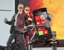 VIDEO: LG Optimus 7 in Transformers / Matrix mash-up