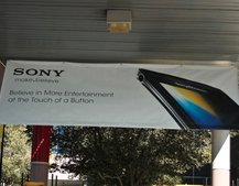 Unannounced Sony Ericsson phone leaked in CES poster