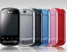 LG Optimus Me P350 given Facebook exposure