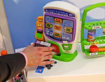 Self-Service Checkout - the toy