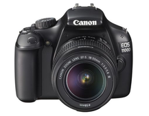 Canon EOS 1100D: First steps DSLR