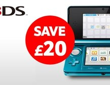 Nintendo 3DS discount at Tesco Entertainment
