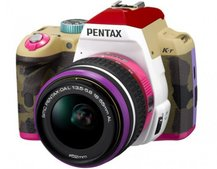Pentax Bonnie Pink K-r isn't a sight for sore eyes