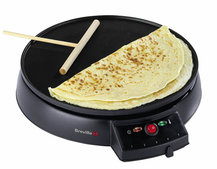 Breville Traditional Crêpe Maker helps Pancake Day run smoothly