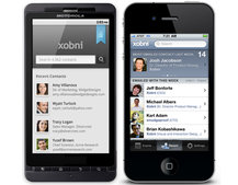 Xobni for Android and iPhone puts you in touch