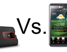 HTC Evo 3D vs LG Optimus 3D