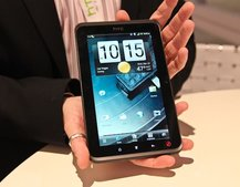 HTC EVO View 4G ditches HTC Flyer angelic look