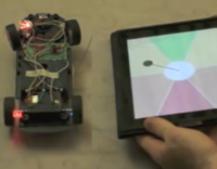 VIDEO: iPad and Kinect controlled RC car