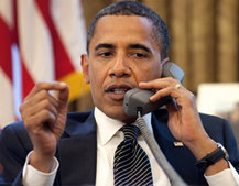 Barack Obama: White House phones not cool