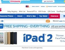 iPad 2 gets kid-friendly logo... At Toys R Us