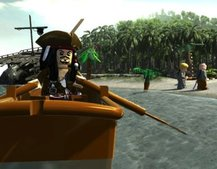 Lego Pirates of the Caribbean hands-on