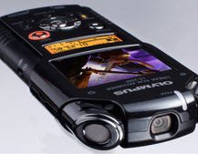 Olympus LS-20 sound recorder adds HD movie capture