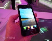LG Optimus Black UK release dated