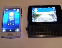 Sony Ericsson Xperia mini and mini pro hands-on