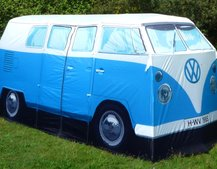 VW Camper camping, but not as you know it