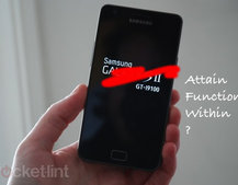 Samsung Galaxy S II, or should that be the Samsung Attain, Function, or Within?