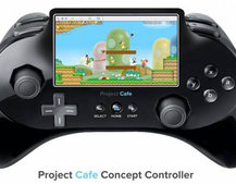 Nintendo Wii 2 Project Cafe controller to sport camera