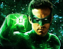 Green Lantern augmented reality app interacts with movie posters
