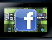 BlackBerry PlayBook OS update adds advanced Facebook features