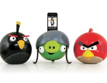 Gear4 catapults in Angry Birds speakers
