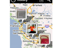 Google Goggles 1.5 now with mapped search history