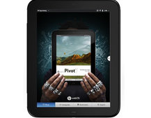 HP's Pivot, the magazine-style app browser for TouchPad
