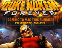 Duke Nukem Forever: Offending Mac users from August