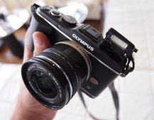 Olympus Pen E-P3 hands-on