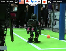 Scottish team knocked out of robotic World Cup