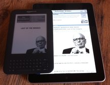 Kindle newspaper and magazines added to iOS app