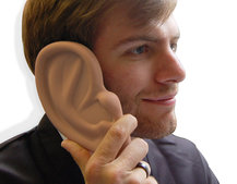 Ear Case for iPhone 4 - love it or lobe it!