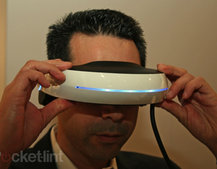 Sony 3D head-mounted visor going on sale in November